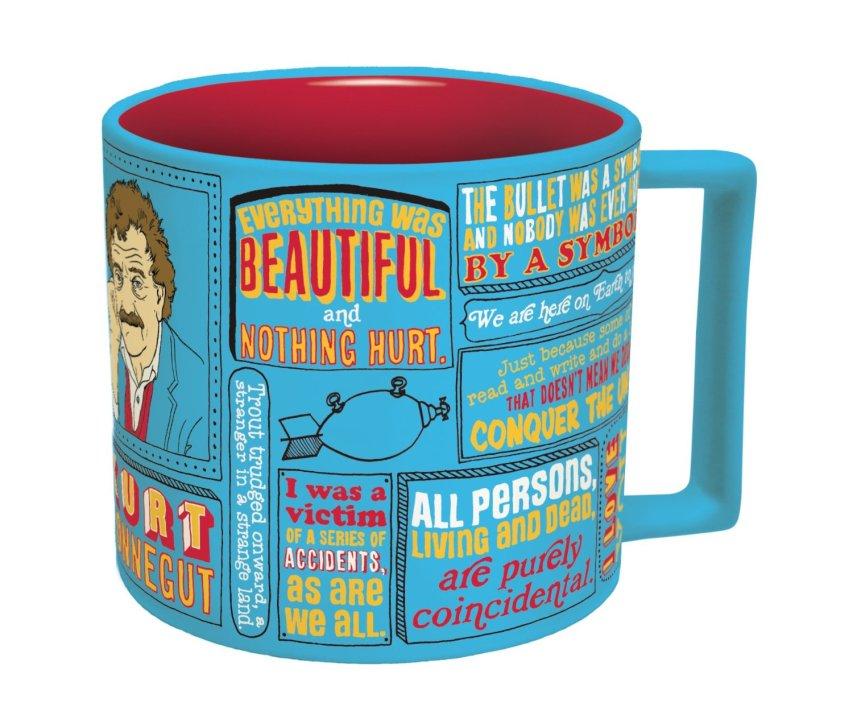Christmas Gifts for Writers - Kurt Vonnegut Literary Mug
