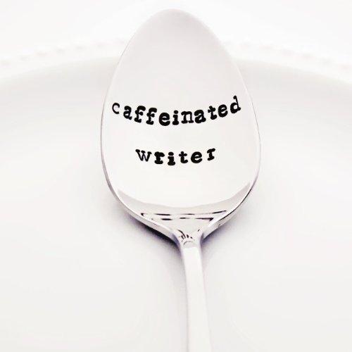Caffeinated Writer Spoon