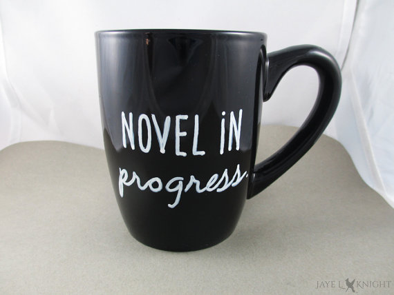Novel in Progress Mug