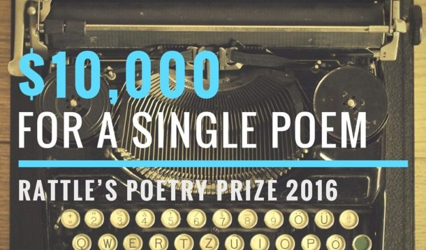 Rattle Poetry Prize 2016