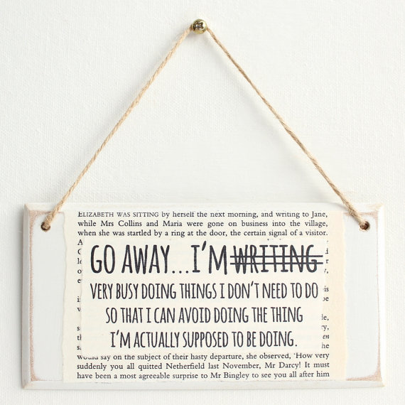 go-away-im-writing-sign