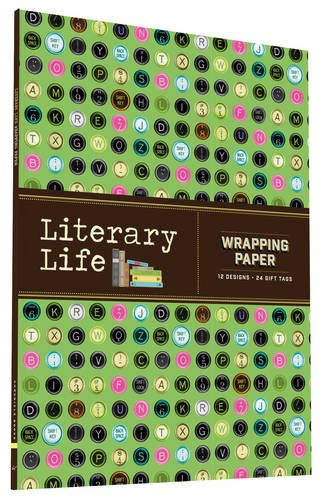 literary-life-wrapping-paper