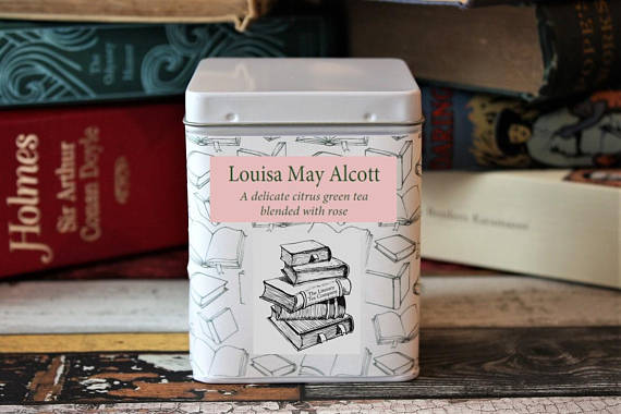 Louisa May Alcott Tea - Gifts for Writers