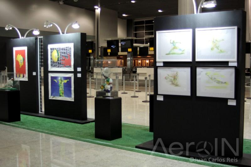 Exposição de Arte e Cultura no GRUAirport