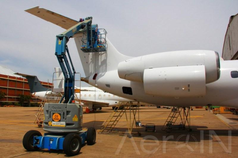 """A TAP é homologada para inspecionar a fuselagem da aeronave """"de ponta a ponta""""."""
