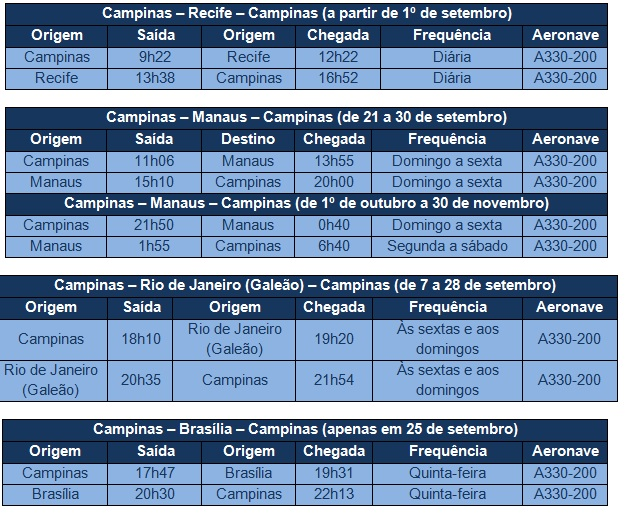 timetable A330