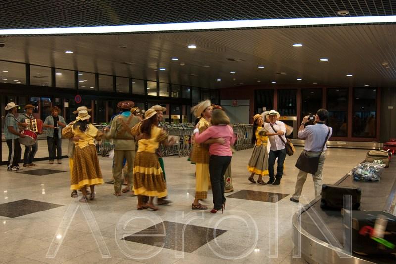 Recepção calorosa dos panamenhos