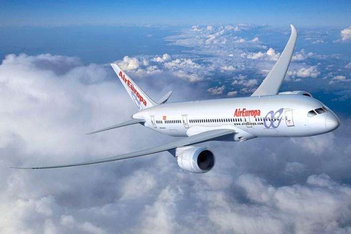Air Europa 787-8 artwork