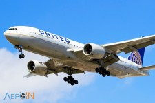 Avião Boeing 777 United Airlines