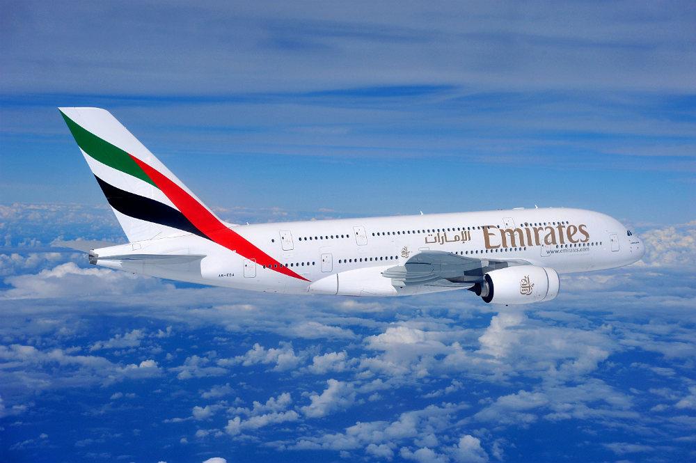 Falta um mês para EMIRATES iniciar os voos com A380 ao Brasil.