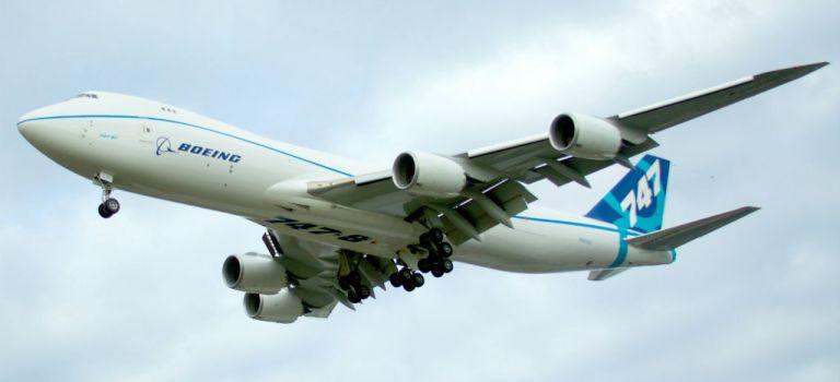 Avião Boeing 747-8F