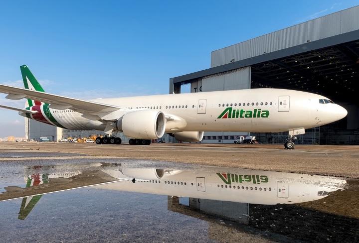 Avião Boeing 777 Alitalia