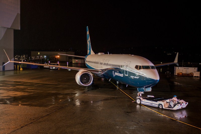 Avião Boeing 737 MAX