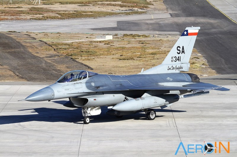 F-16 Texas ANG USAF FIDAE 2014