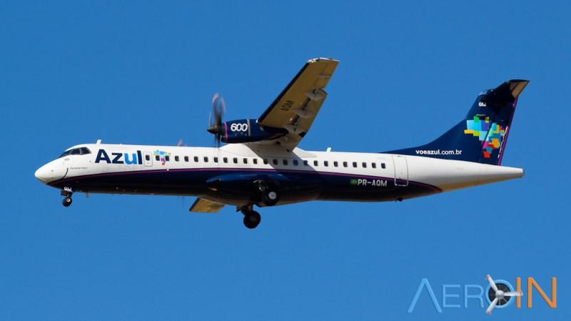 Avião ATR 72-600 Azul
