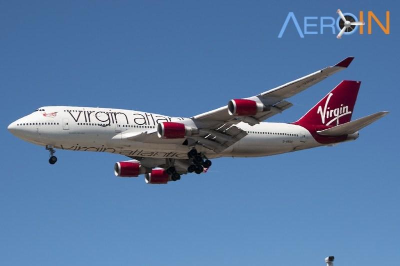 Avião Boeing 747 Virgin