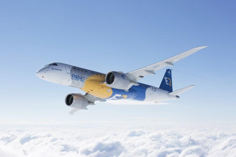 Embraer E2 Primeiro Voo E190 2