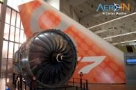 Boeing 747 cauda motor museu boeing future of flight