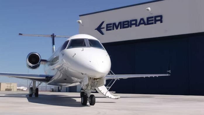 Embraer tem linha de jatos (Phenom e Legacy) muito fortes em seus segmentos.