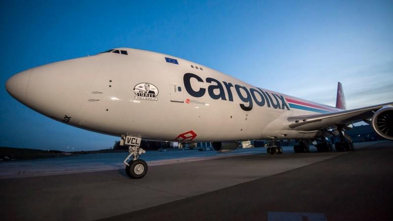Cargolux 747-8F Delivery Honors Joe Sutter