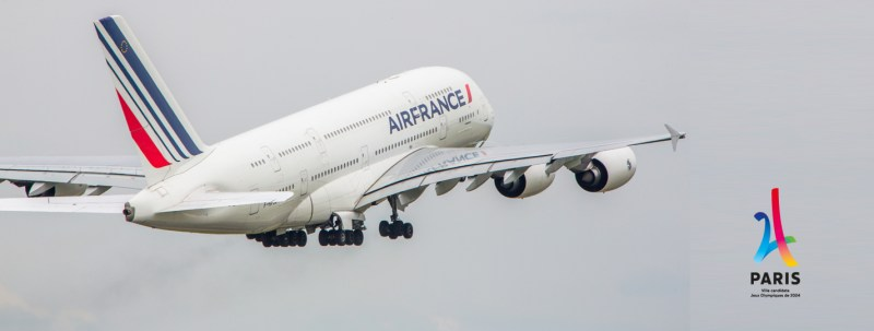 Airbus A380 Air France 2024 Paris