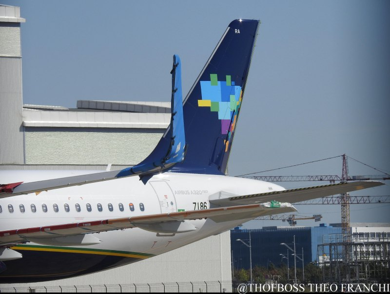 A320neo Azul cauda