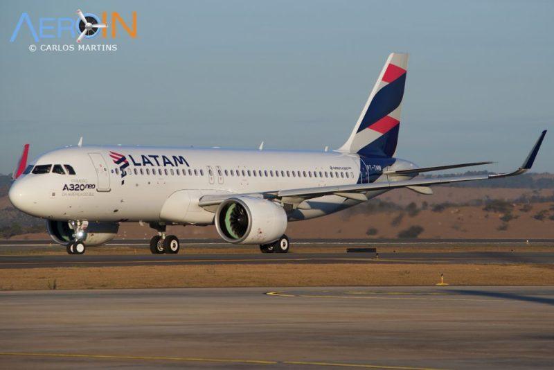A320neo LATAM Taxi