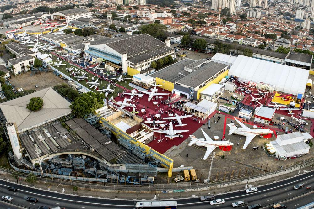 Labace 2017 terá 45 aeronaves expostas no Aeroporto de Congonhas em agosto.