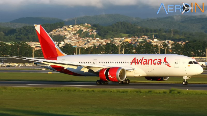 Boeing 787 Avianca Colômbia