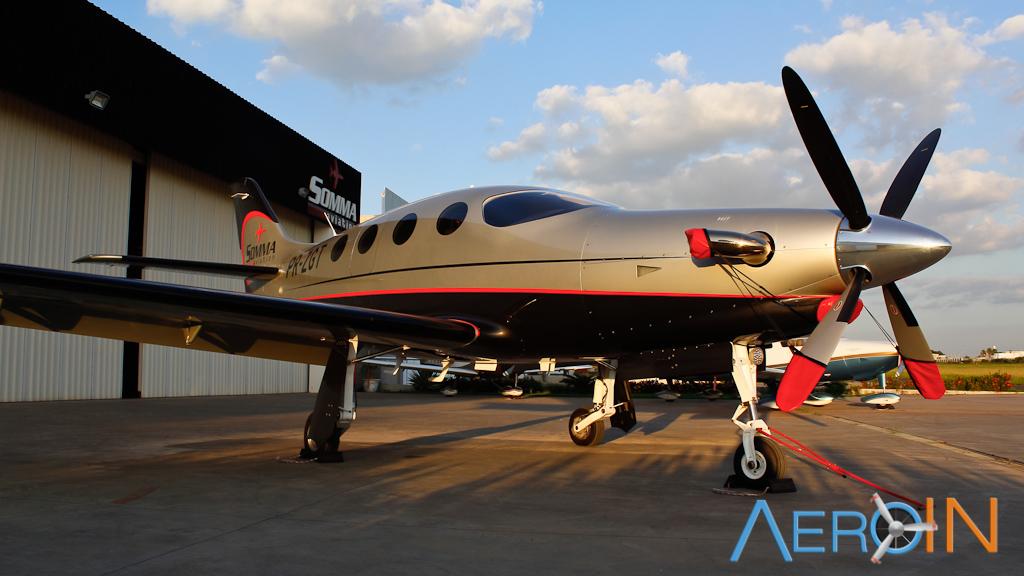 Somma Aviation divulga tour de demonstração do Epic pelo Brasil.