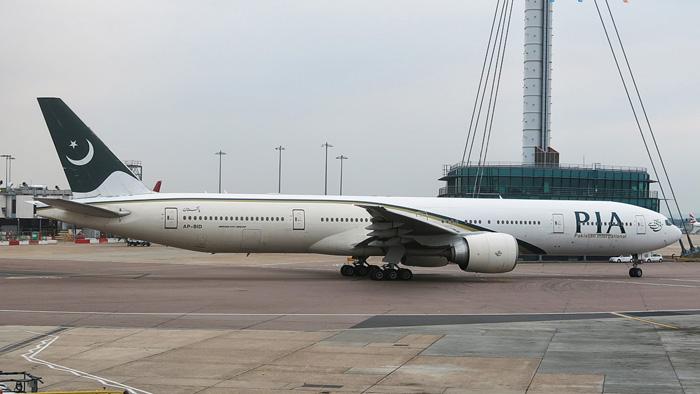 PIA Pakistan 777 Passageiros