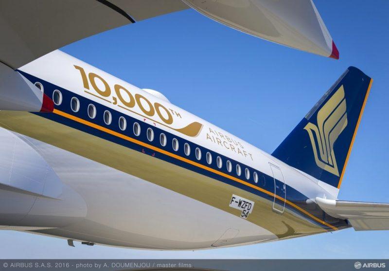 A350 Singapore 10000