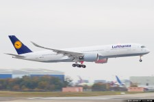Avião Airbus A350 Lufthansa