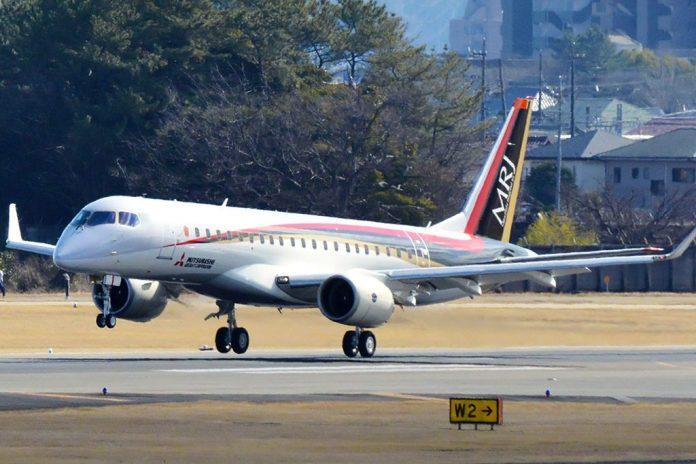 Avião Mitsubishi MRJ