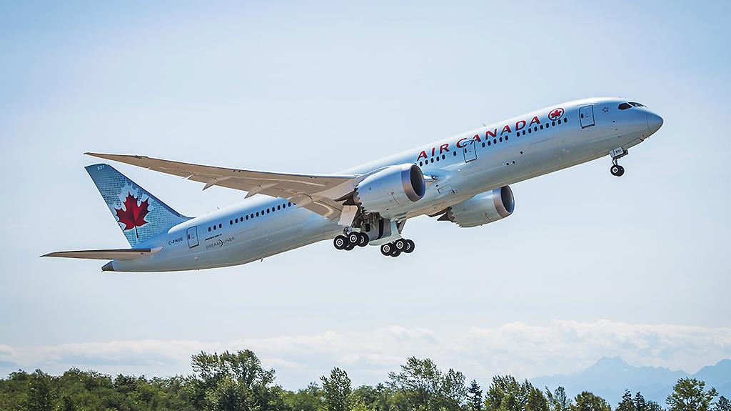 Air Canada confirma Boeing 787-9 em voos regulares para o GRU Airport.