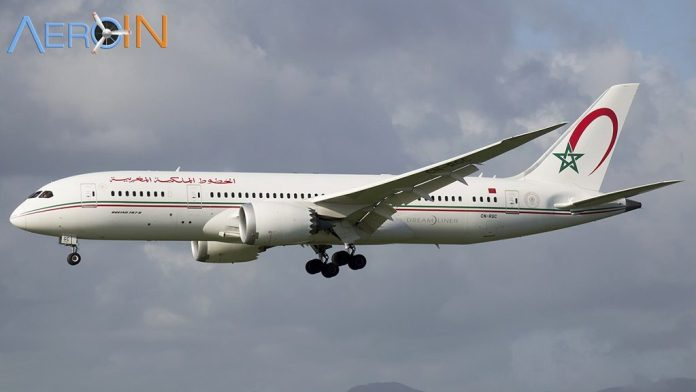 Avião Boeing 787 Dreamliner Royal Air Maroc