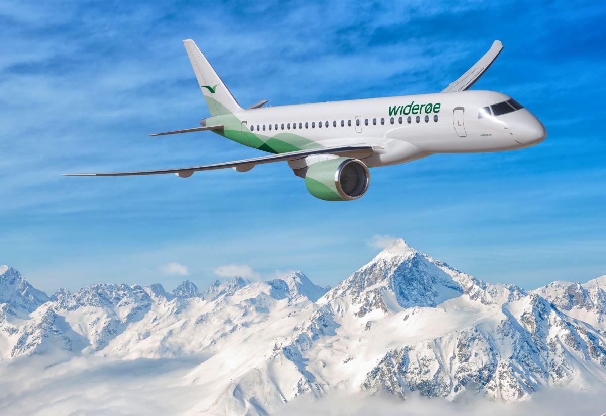 Embraer fecha a venda de até 15 novos E2 para companhia norueguesa.
