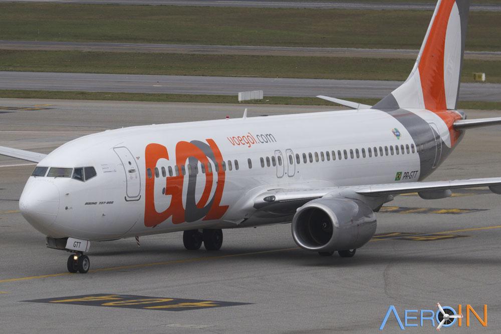 GOL divulga lucro de R$ 1,1 bilhão e 30 milhões de passageiros transportados.