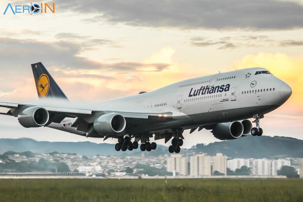 Lufthansa realizará visita no seu Boeing 747-8 no Dia das Crianças