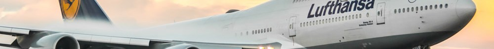 Avião Boeing 747-8 Lufthansa