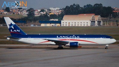 767 Lan Chile old colors