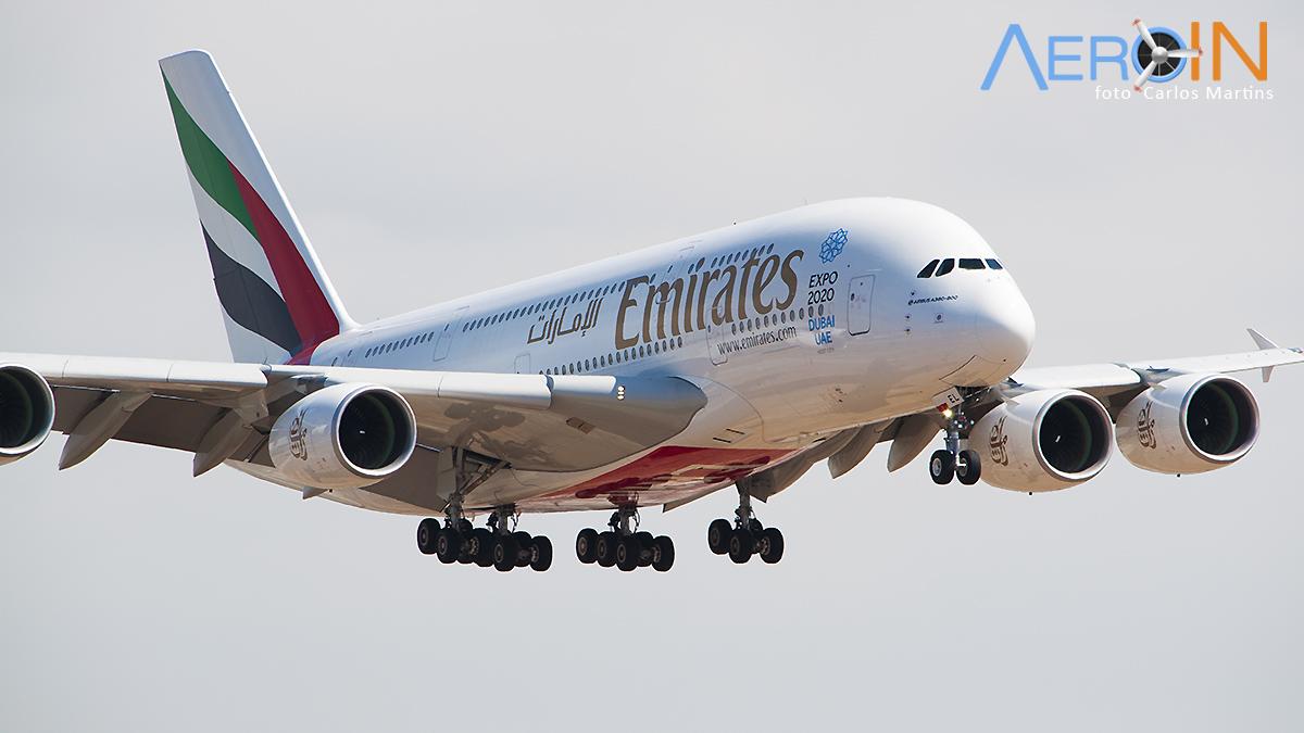 GRU Airport fará transmissão ao-vivo da chegada do A380.