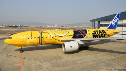 ANA 777 Star Wars C3PO