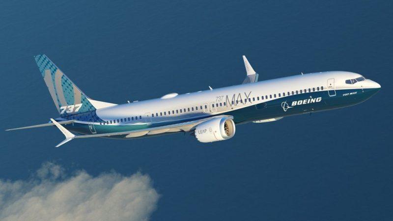 Avião Boeing 737 MAX 10