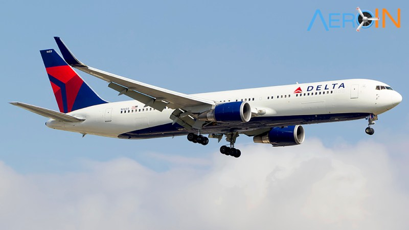 Avião Boeing 767 Delta
