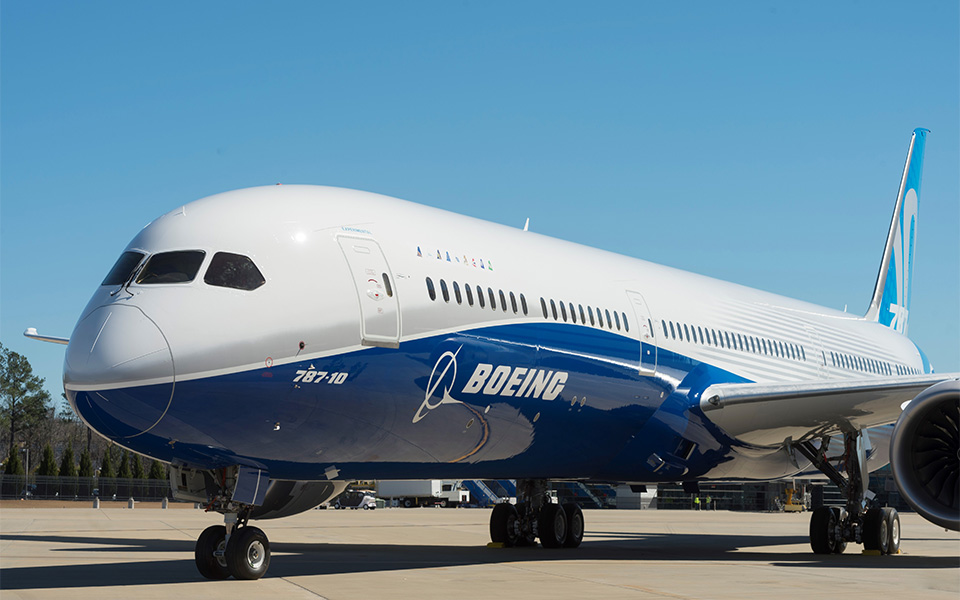 Boeing 787-10 irá decolar pela primeira vez na próxima semana.