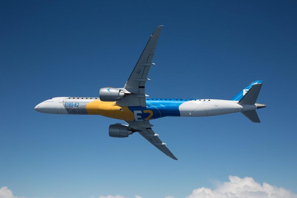 Embraer E195-E2 viabilizará mais de 800 novas rotas na Europa.