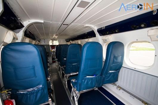 DHC 6 interior