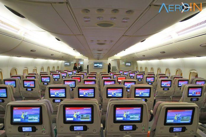 Emirates A380 classe econômica