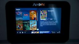 Azul Kids conta com uma variedade de jogos e filmes infantis